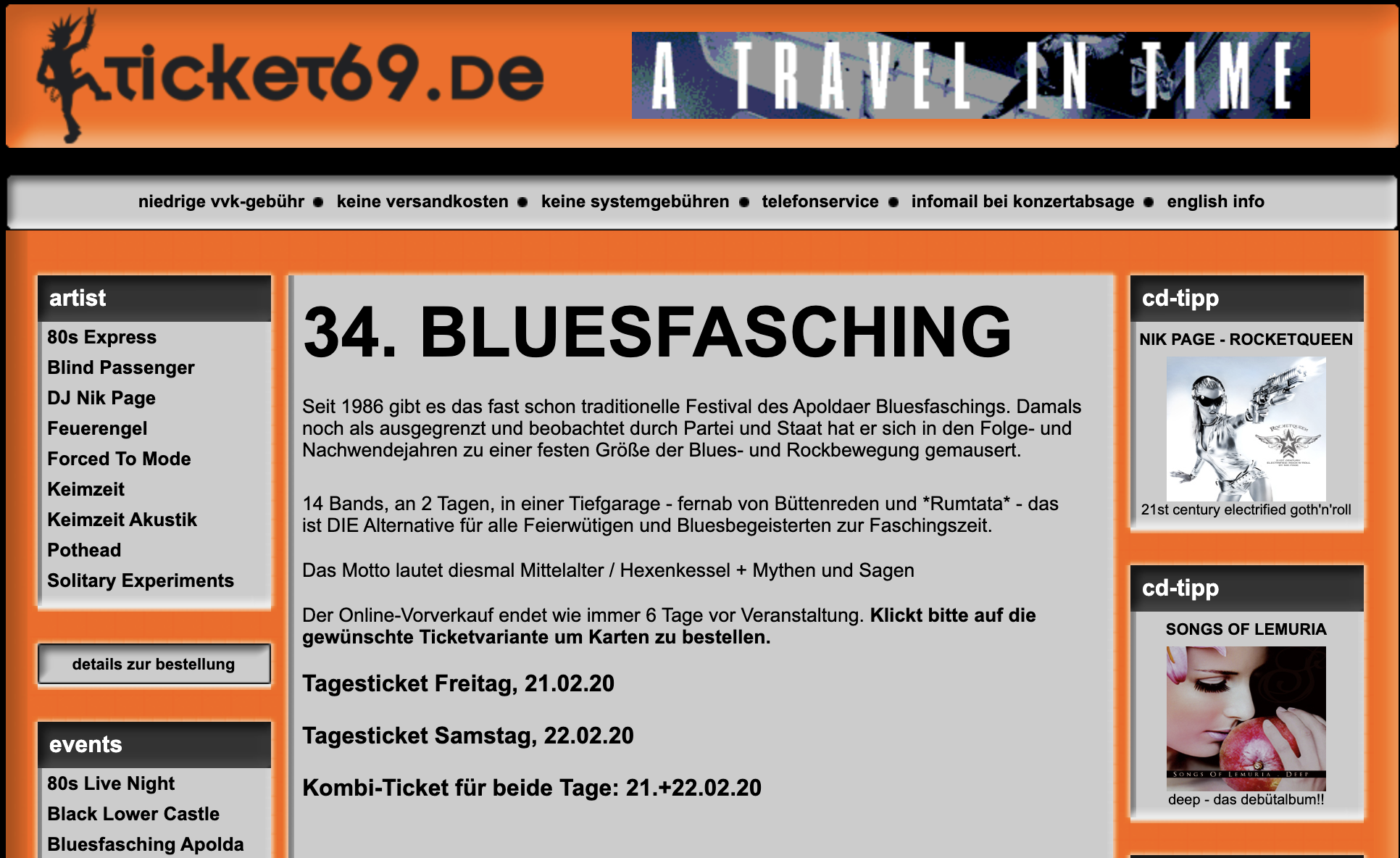 34. Bluesfasching